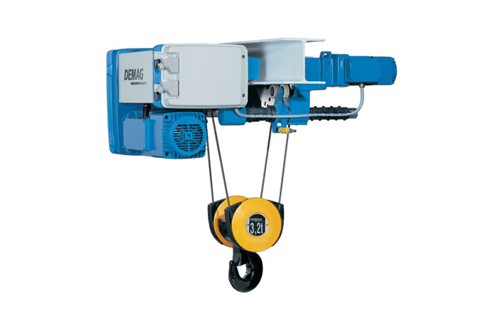 Overhead Crane Vibration : Hoist units demag elmas